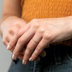 diamond row ring