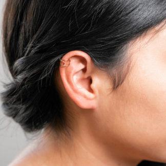 cuff em earrings model